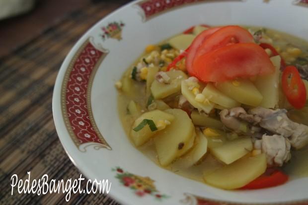 Sup Ayam Sayuran-ku